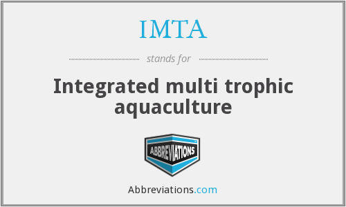 IMTA - Integrated multi trophic aquaculture