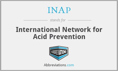INAP - International Network for Acid Prevention