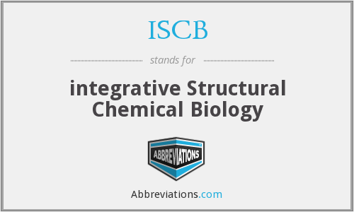What does ISCB stand for?
