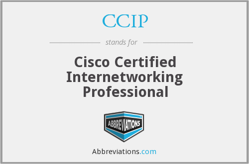 What does CCIP stand for?