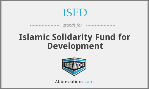 What does ISFD stand for?