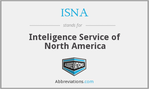 ISNA - Inteligence Service of North America