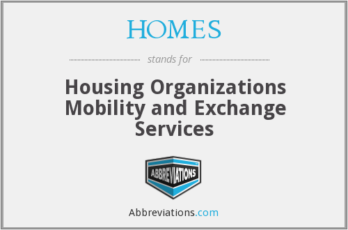 HOMES - Housing Organizations Mobility and Exchange Services