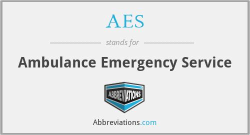 AES - Ambulance Emergency Service