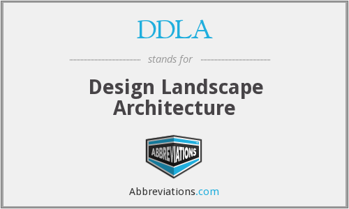 What does DDLA stand for?