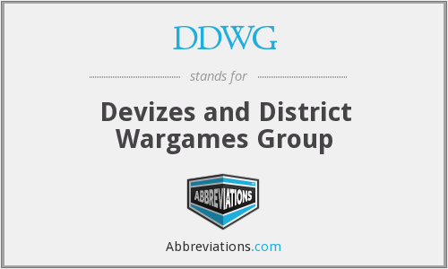 DDWG - Devizes and District Wargames Group
