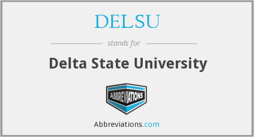 What does DELSU stand for?