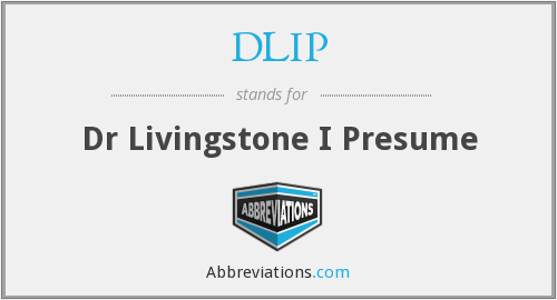 What does presume stand for?