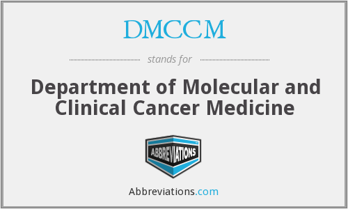 What does DMCCM stand for?