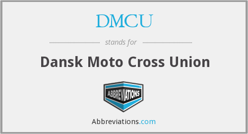DMCU - Dansk Moto Cross Union