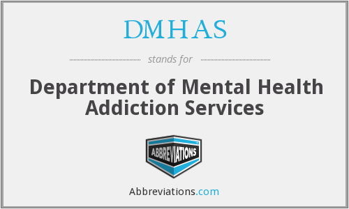 What does DMHAS stand for?