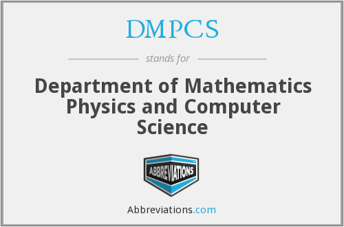 What does DMPCS stand for?