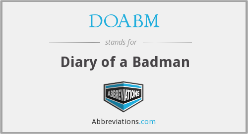What does DOABM stand for?