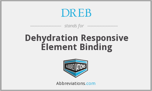 What does dehydration stand for?
