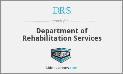 DRS - Department of Rehabilitation Services