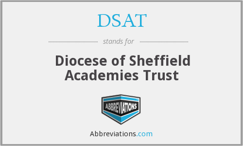 DSAT - Diocese of Sheffield Academies Trust