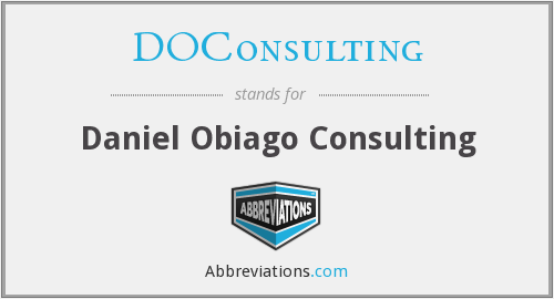 What does DOCONSULTING stand for?
