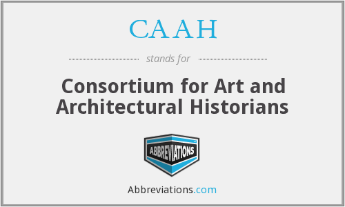 CAAH - Consortium for Art and Architectural Historians