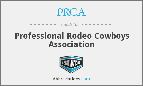 PRCA - Professional Rodeo Cowboys Association