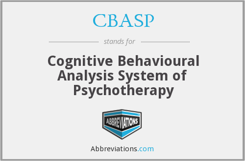 What does CBASP stand for?