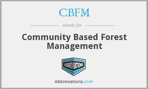 What does CBFM stand for?