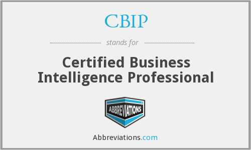 What does CBIP stand for?