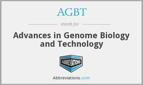 What does AGBT stand for?