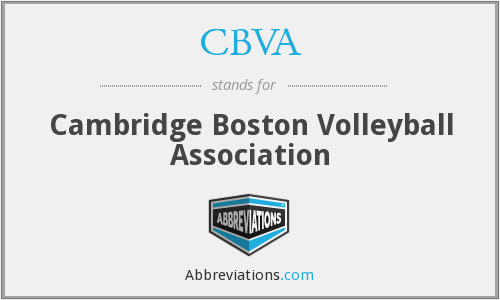 What does CBVA stand for?
