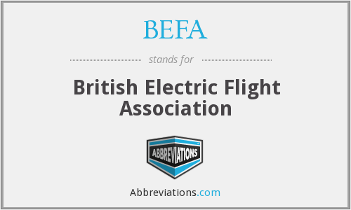 BEFA - British Electric Flight Association