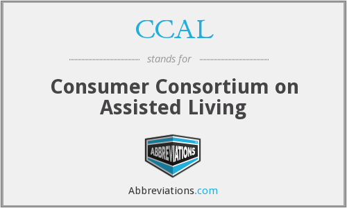 CCAL - Consumer Consortium on Assisted Living