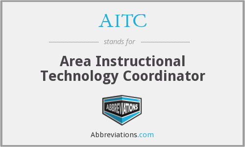 AITC - Area Instructional Technology Coordinator