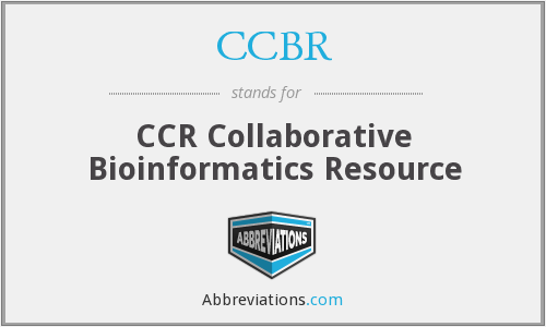 What does CCBR stand for?