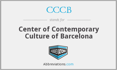 CCCB - Center of Contemporary Culture of Barcelona