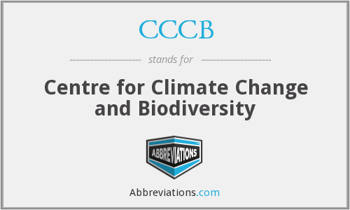 CCCB - Centre for Climate Change and Biodiversity
