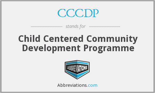 What does CCCDP stand for?