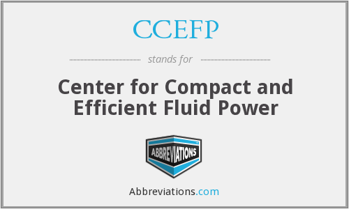 What does CCEFP stand for?
