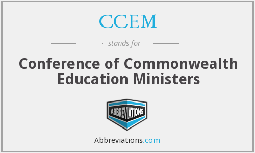 What does CCEM stand for?