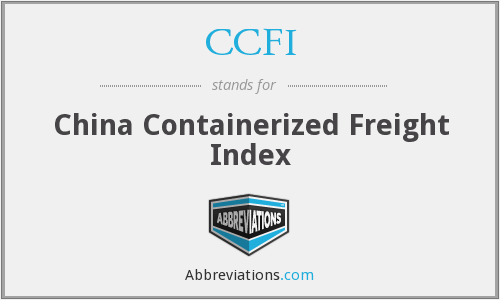 CCFI - China Containerized Freight Index