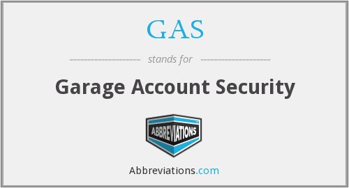 GAS - Garage Account Security