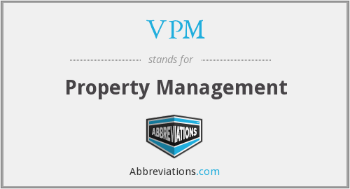 What does VPM stand for?