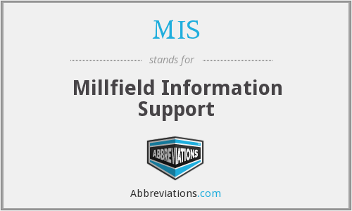 MIS - Millfield Information Support