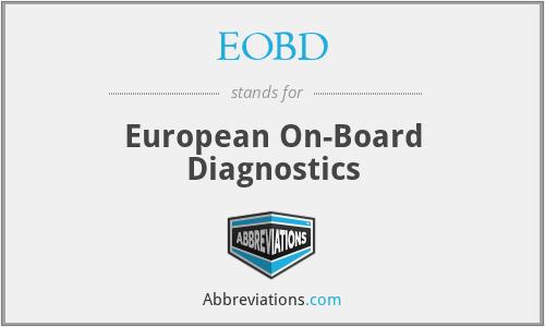 EOBD - European On-Board Diagnostics