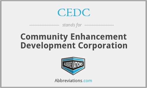 CEDC - Community Enhancement Development Corporation