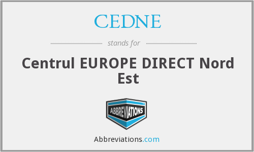 What does CEDNE stand for?
