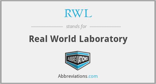 RWL - Real World Laboratory