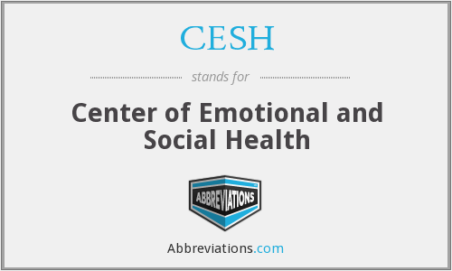 CESH - Center of Emotional and Social Health