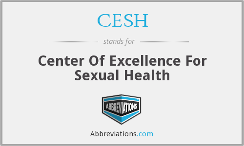 CESH - Center Of Excellence For Sexual Health