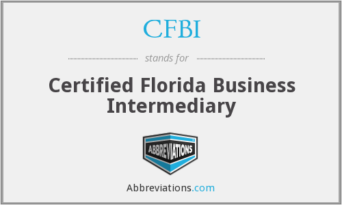 CFBI - Certified Florida Business Intermediary
