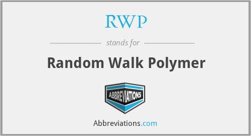 RWP - Random Walk Polymer