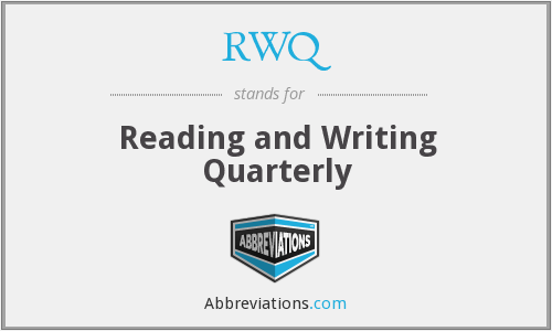 What does RWQ stand for?